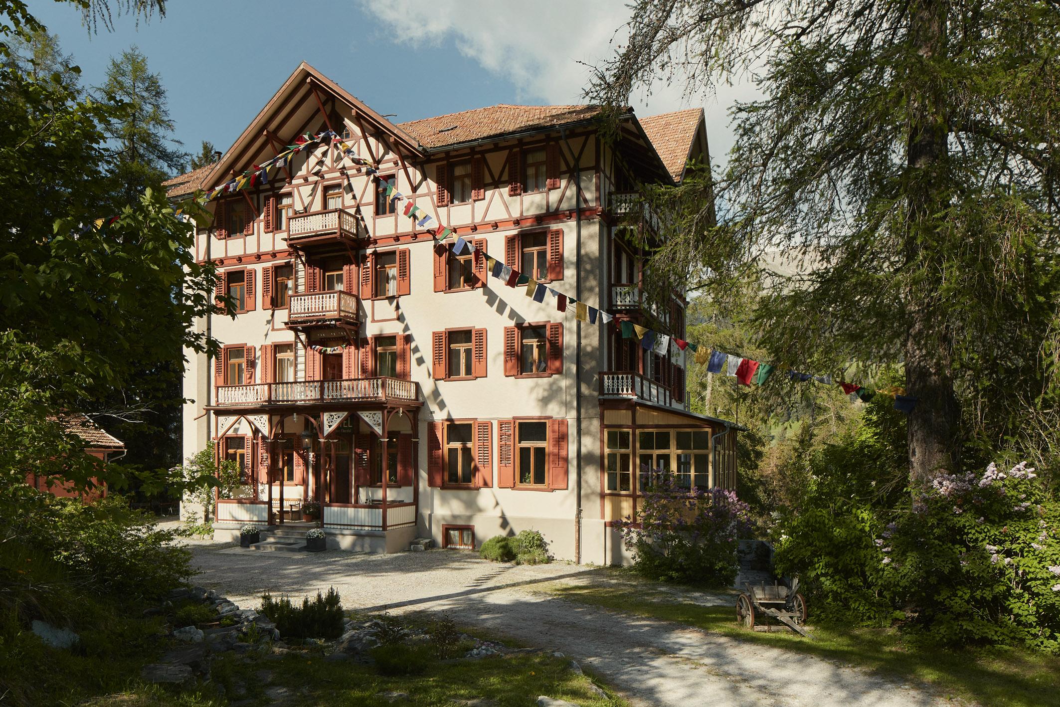 Waldhotel Pradaschier